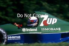 Bertrand Gachot Jordan 191 F1 temporada 1991 fotografía 2