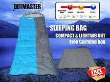 Outdoor Camping Sleeping Bag Tent Hiking Compact Softer -10°C 220x80cm 300G/M
