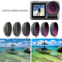 Diving Red/Purple Lens Filter/ CPL ND4/8/16/PL Filter For DJI OSMO Action Camera