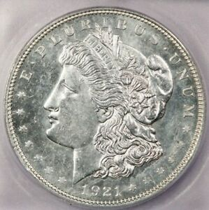 1921-P 1921 Morgan Silver Dollar ICG MS64 PL Morgan