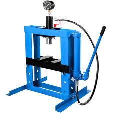 10T Presse Hydraulique d'Atelier sur Colonne avec Pompe et Manomètre Automobile