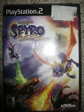 Legend of Spyro: Dawn of the Dragon  (Sony PlayStation 2, 2008) PS2 Complete