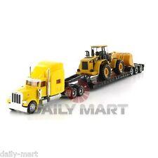1/87 Norscot Peterbilt 389 Tractor Diecast Model Truck CAT 950F Wheel Loader