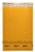 600 #1 Quality USA Kraft Bubble - Lite 7.25x12 Bubble Envelopes Mailers 100.6
