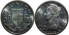 REUNION  50 FRANCS 1962  ESSAI RARE