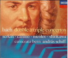 Bach: Double & Triple Concertos (Doppi e Tripli Concerti) / Serkin, Canino - CD