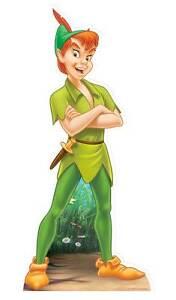 PETER PAN Disney Neverland party LIFESIZE CARDBOARD CUTOUT STANDEE STANDUP