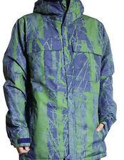 686 Authentic Moniker Snowboard Jacket (L) Indigo Tree