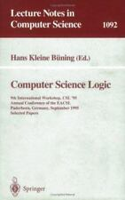 Computer Science Logic : 9th International Workshop, CSl '95, Annual...