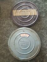 """Lot of 2 used 7"""" Reel to Reel Tapes Home Recordings 1950s"""