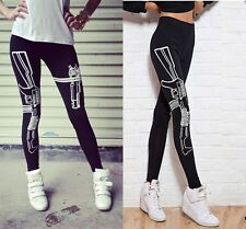 Cool Womens Gun Stretch Leggings Fitness Sports Trouser Training Pants