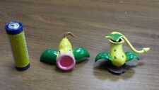 Generation 1 Pokemon plastic figure set of Weepinbell Victreebel 1-2 Inches