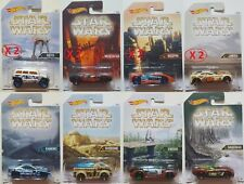 HOT WHEELS CARS DJL03 STAR WARS: SET COMPLETO 12 MODELLINI BLISTERATI