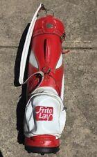 Hot-Z Frito Lay  Cart Golf Bag Red & White Rare
