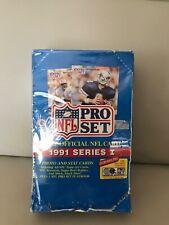 1991 SERIES PRO SET NFL HOBBY BOX.