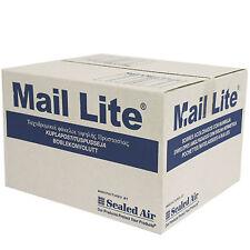 100 x D/1 MAIL LITE Padded Mail Envelopes Sealed Air Bag Mail Lites White Boxed