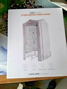 Lakeland Dry:Soon 3-Tier Heated Airer - Silver