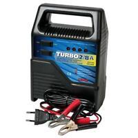 Turbo 2/8 A, caricabatteria 6/12V