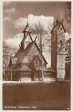 0783. s/w-AK. Stabkirche Wang. Brückenberg im Riesengebirge. CZ. Ungelaufen.