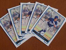 Joc Pederson, Los Angeles Dodgers 2012 Bowman RC, lot of 5 MT cards