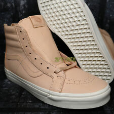 982791f0f09cef VANS SK8 HI VEGGIE TAN LEATHER MEN S HIGH TOP SKATE SHOES  8A155.132