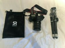 Canon EOS 7D Ds126251 W/ 28-135mm lens, tripod and camera bag