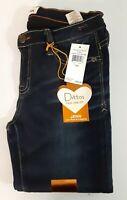 Womens Dittos Jenn Low Rise Leggins Jeans  Dark Blue 7/28 365 Denim Stretch