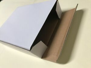 """60X 5 1/2""""X 4 1/2""""x 1 1/4"""" Cardboard Packing Mailing Moving Shipping Boxes"""