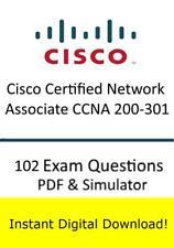 Cisco Certified Network Associate CCNA 200-301 (102 Questions PDF Sim->Email)