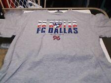 FC Dallas MLS  shirt  by Majestic XL gray