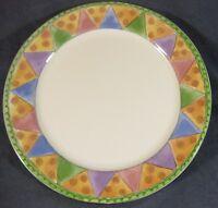 Sango Sweet Shoppe Marzipan 3025 Dinner Plate Sue Zipkin Geometric Shapes