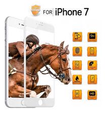 5D Schutz Glas für iPhone 7, 9H HD,360°FULL SCREEN! Neueste Technologie! weiss
