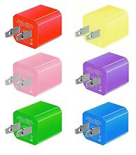 Boost Portable 5V USB Charger [6-PACK] Replacement USB Wall Charger for iPhon...