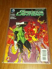 GREEN LANTERN #38 DC COMICS NEW 52 FLASH VARIANT NM (9.4)