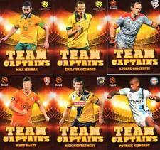 2015/16 TapNPlay FFA & A-League Soccer Team Captains Complete 12-Card Insert Set