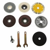 Durable Cutting Grinding Polishing Saw Blades Disc Angle Grinder Rotary Kit D6WC