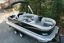 New 22 ft  Rear Fish pontoon boat with 60 hp and trailer