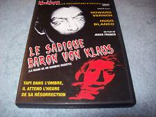 LE SADIQUE BARON VON KLAUS (LA MANO DE UN HOMBRE MUERTO) - JESS FRANCO-  DVD