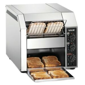 Lincat CT1 Commercial Conveyor Toaster For Toast, Buns, Bagels, Teacakes Etc