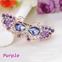 Rhinestone Clip Butterfly Accessories Hair Clip HeadWear Hairpin Barrette