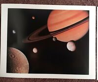VTG NASA JPL Space - Voyager 1 Voyager 2 Saturn 1980-81  12 Photos Images Lot