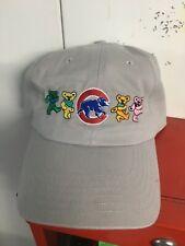 Chicago cubs Grateful Dead & Company replica hat cap dancing bears Wrigley field