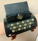 Steampunk Typewriter Wearable Bracer Arm Cuff Unique Leather Art Cosplay Costume