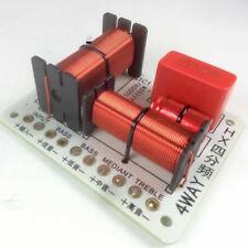150W 800Hz 5KHz  4 Ways Multi Speaker Audio Frequency Divider Crossover Filters