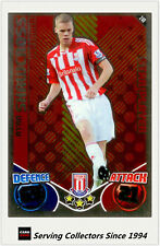 2010-11 Topps Match Attax Star Player Foil No 240 Ryan Shawcross (Stoke City)