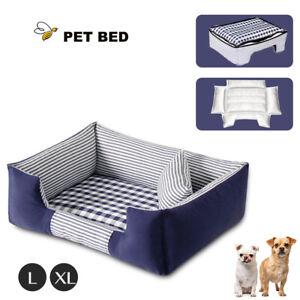 Pet Bed Dog Beds Bedding Mattress Mat Cushion Soft Pad Pads Mats L/XL