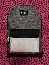 Victoria's Secret PINK Everyday Backpack DARK GRAY MARL *NWT* RARE