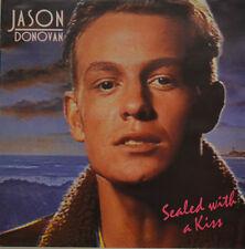 "JASON DONOVAN - SEALED WITH A KISS Single 7"" (I876)"