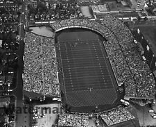 1960's Hamilton Tiger Cats Ivor Wynne Stadium Aerial Black & White 8 X 10 Photo