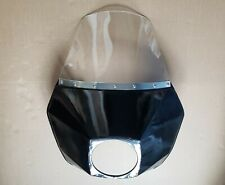 Windshield with black metal fairing for motorcycle URAL,DNEPR.
